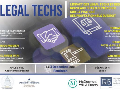 Conférence Legal Techs