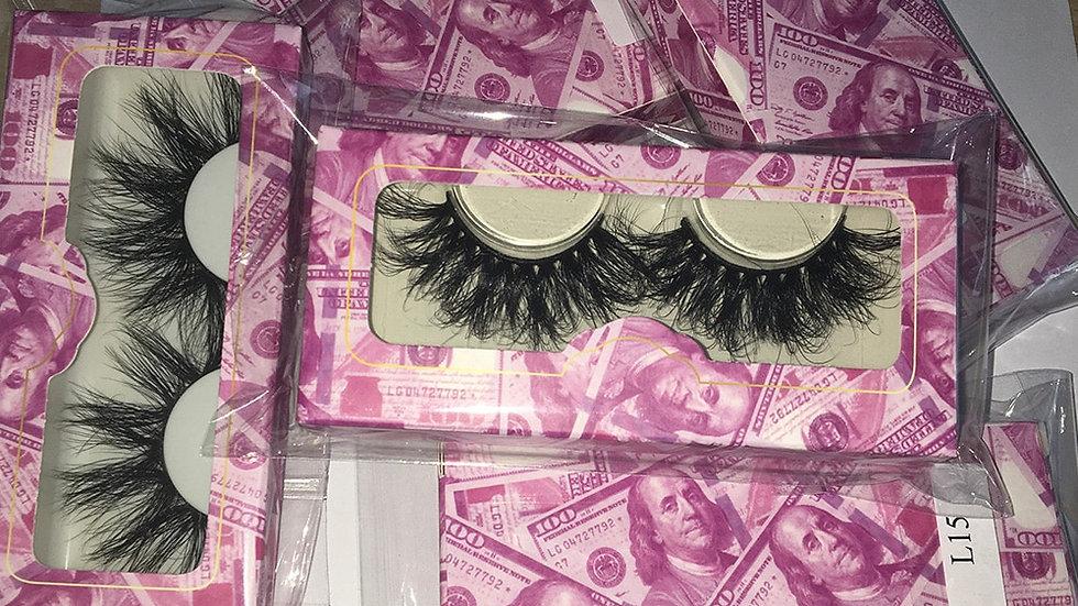 Wholesale Lashes w/ Pink Money Box