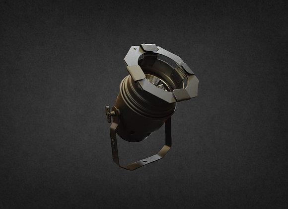 Refletor AR 111 Preto
