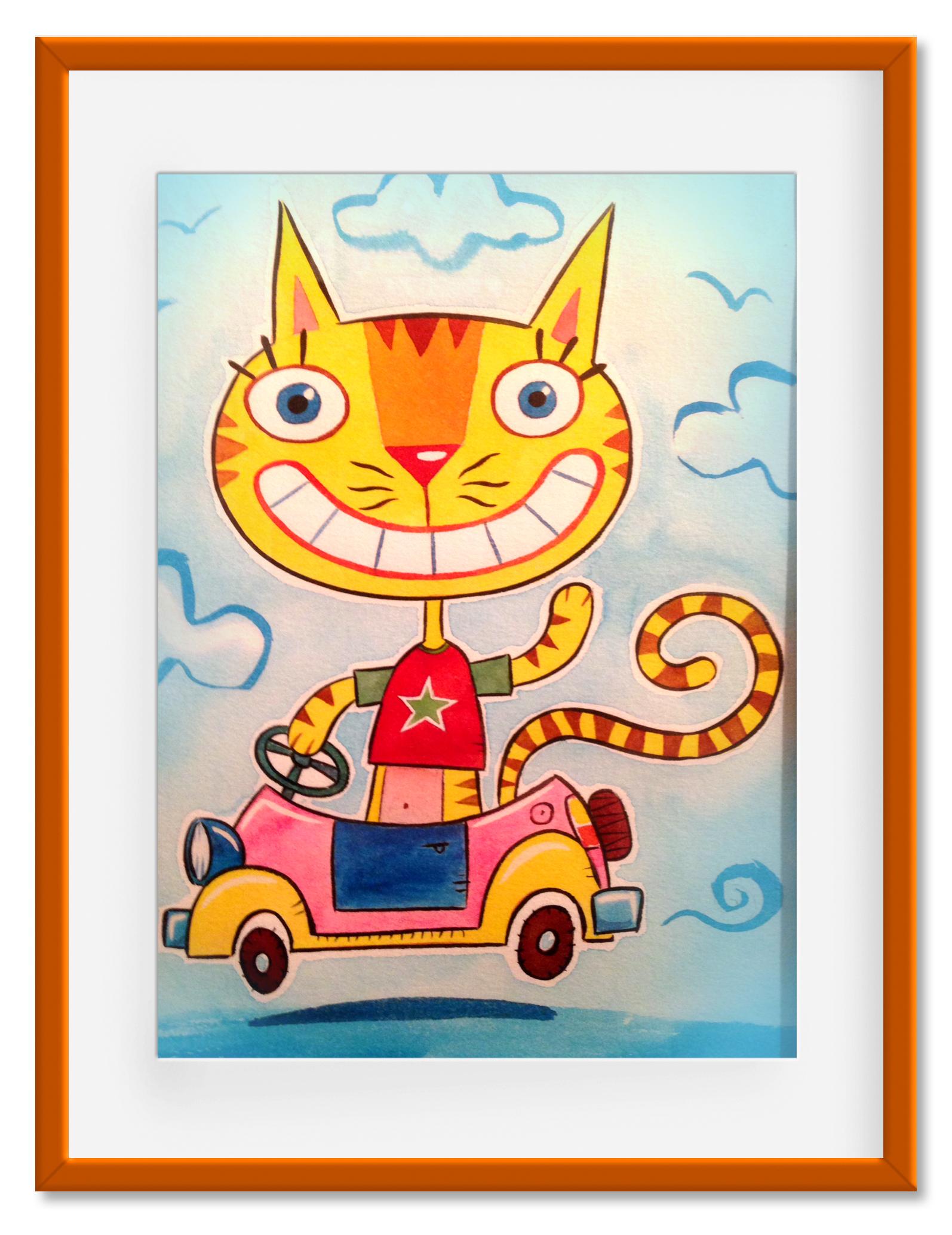Cat+Car