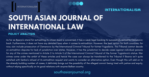 The Extradition of Osman Osmanovic: Legal Insight on Jurisdictional Competence