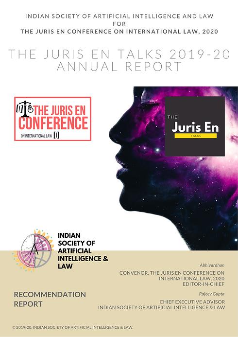 THE JURIS EN TALKS - Annual Report 2019-