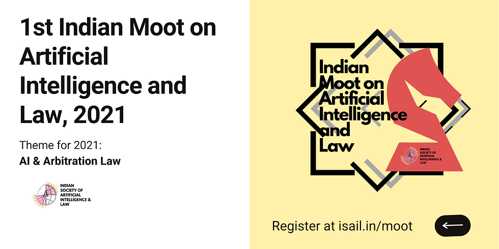 Indian Moot on Artificial Intelligence and Law, 2021