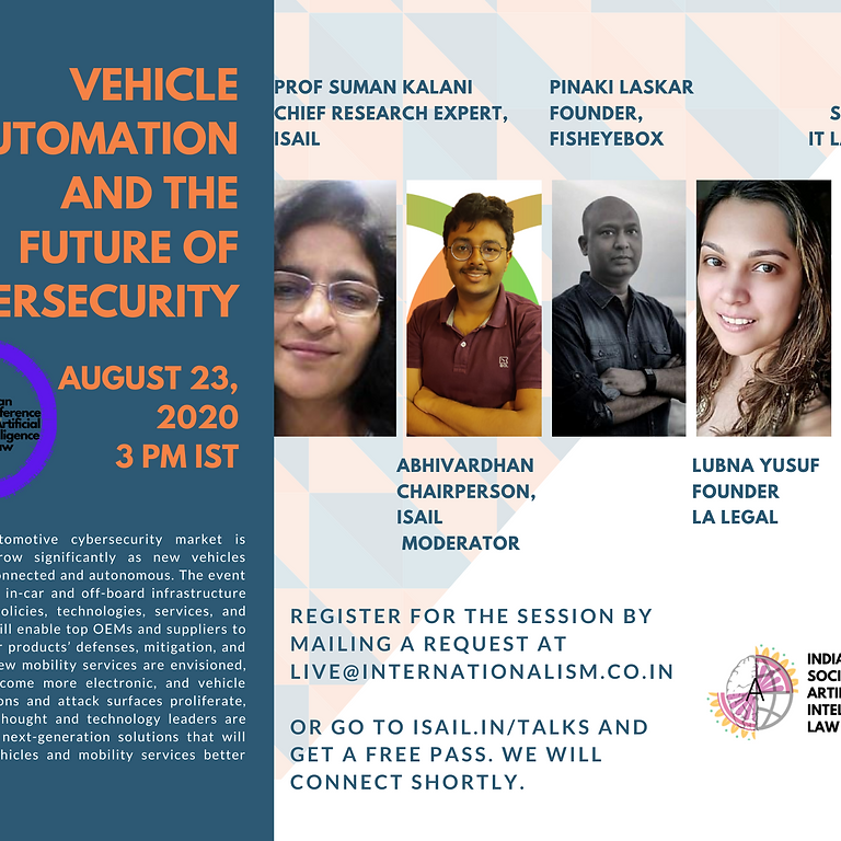 Roundtable on Vehicle Automation and Future of CyberSecurity