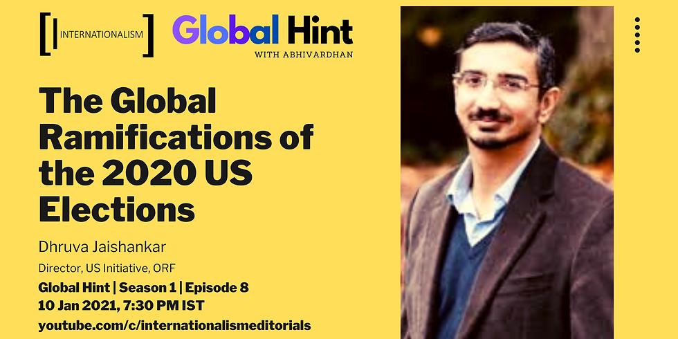 Global Hint | Episode 8 | Season 1 | Dhruva Jaishankar