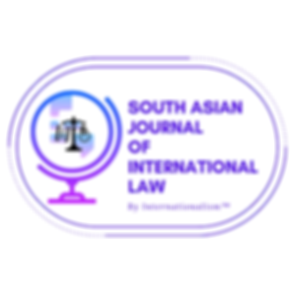 south asian journal of international law