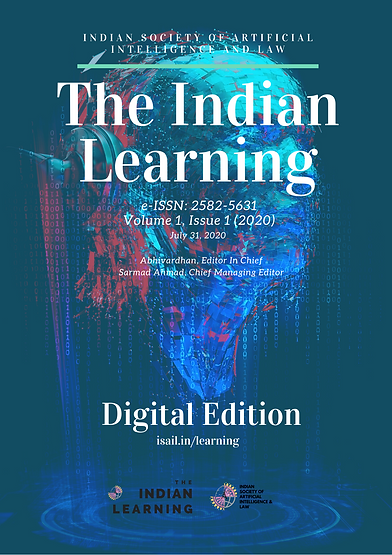 The Indian Learning - Volume 1, Issue 1