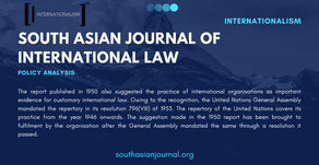 A Thorough Insight on ILC's Approach to Evidence of Customary International Law
