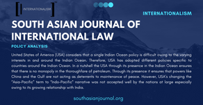 Changing Dynamics of the Maritime Politics Concerning the Indian Ocean