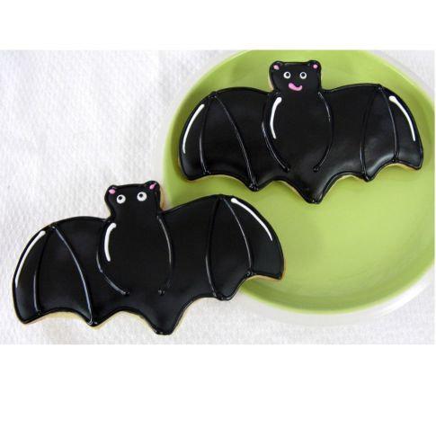 bat cookies Los Angeles, Halloween cookies, Halloween cookies Los Angeles