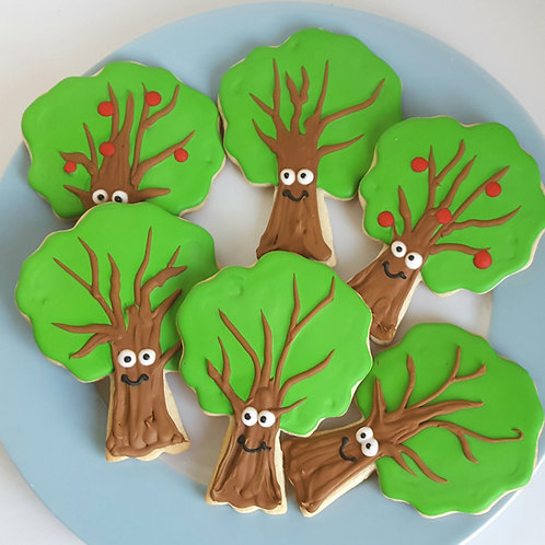 Apple tree cookie, tree cookies, tree cookies Los Angeles, happy tree cookies