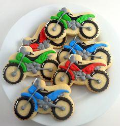 Dirt bike Cookie