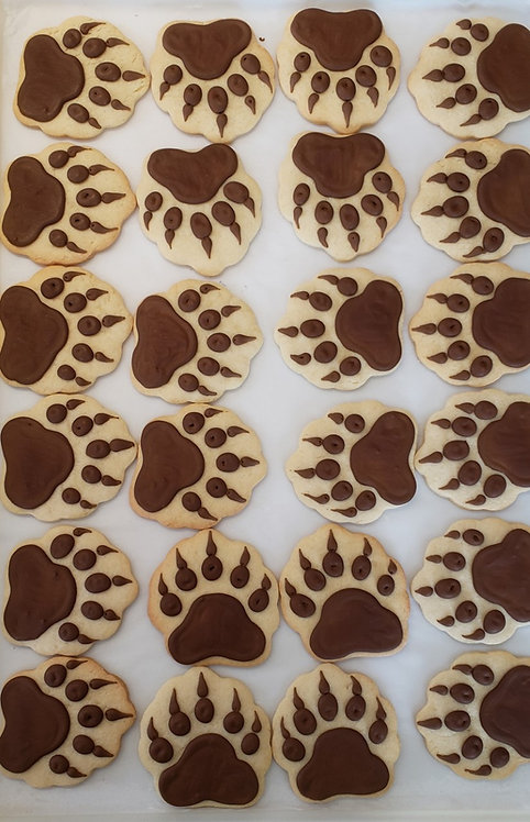 bear claw cookies Los Angeles, Smokey the Bear cookies, Smokey the Bear Los Angeles, Smoky the Bear cookies, claw cookies
