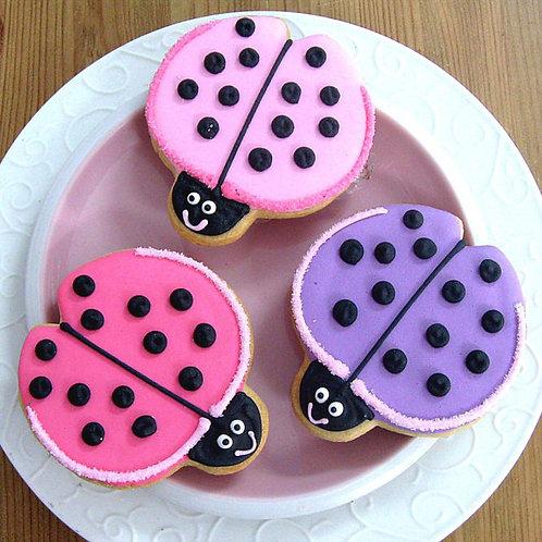lady bug cookies Los Angeles, bug cookies, insect cookies, Ladybug cookies Los Angeles