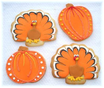 Thanksgiving day cookies Los Angeles, Turkey cookies, turkey cookies Los Angeles, pumpkin cookies, pumpkin cookies LA