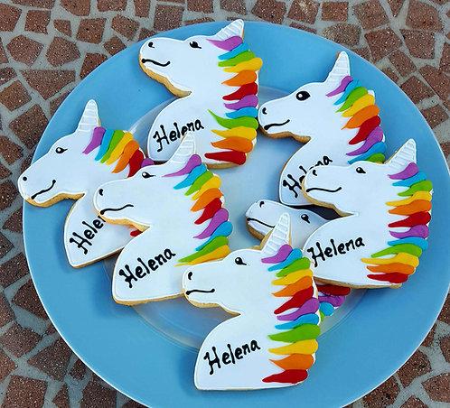 Unicorn party favors, unicorn party cookies, baby shower unicorn cookies, Unicorn cookies Los Angeles