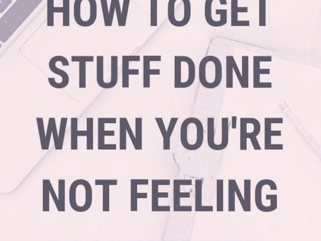 7 Steps: How to be Productive during Stressful Times
