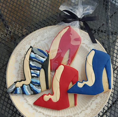 Ladies Heels cookies, ladies heel cookies Los Angeles, womens heels, womens heels cookies