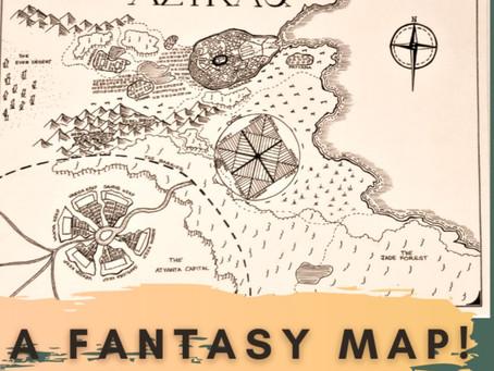 Drawing a Fantasy Map