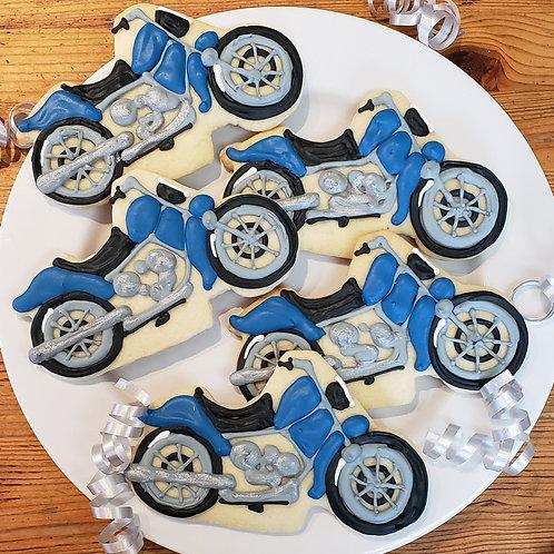 Motorcycle Cookie