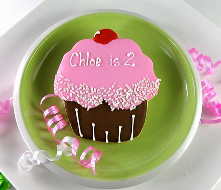 Birthday cupcake cookies, Cupcake cookies, birthday party cupcake favors