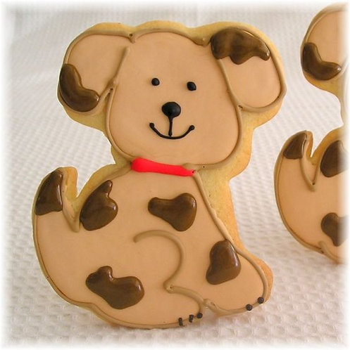 dog cookies, puppy cookies Los Angeles, dog party cookies