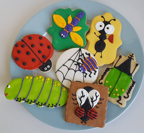 Insect cookies