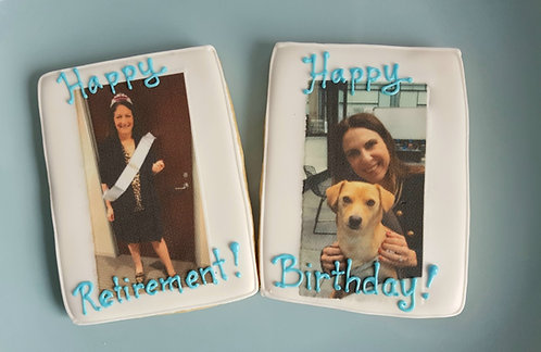 Picture cookies, cookies with photos, image cookies, edible photo cookies