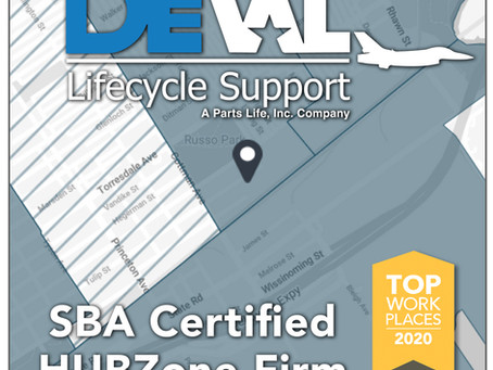 DeVal Lifecycle Support Now SBA Certified HUBZone Firm