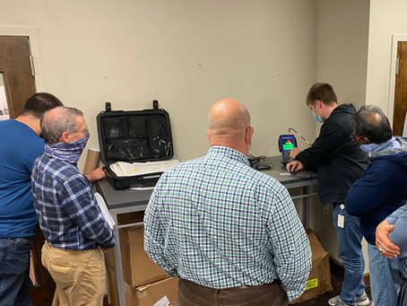 Parts Life, Inc recently trained our production and engineering teams on Eddy Current Testing.