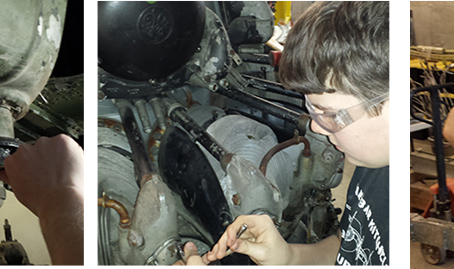 STEM Initiative: Trade and CAD Training for Youth & The Restoration of a B-25J Sandbar Mitchell