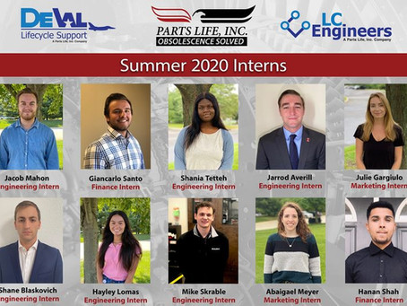 Parts Life said goodbye to our summer interns!