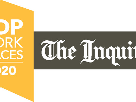THE PHILADELPHIA INQUIRER NAMES DEVAL LIFECYCLE SUPPORT A WINNER OF THE PHILADELPHIA TOP WORKPLACES