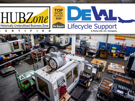 DeVal Lifecycle Support celebrates our 1 year anniversary as a SBA Certified HUBZone Firm.