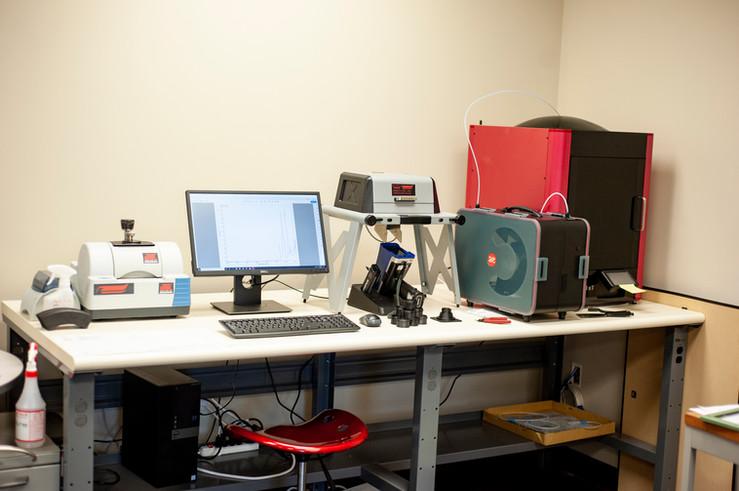 FTIR, XRF, 3D Printer