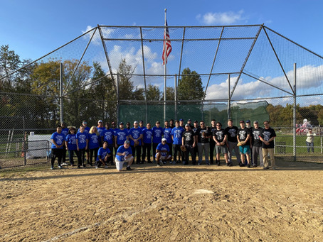 Parts Life, Inc takes part in the second inter-company softball game with DeVal Lifecycle Support.