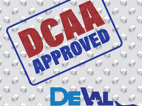 DeVal is now DCAA Approved!