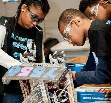 STEM Initiative: Parts Life, Inc. Sponsors Inner City Circuits Robotics Team
