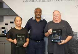 Jeff Harris and Wing Van Honored in Retirement