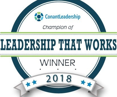 "President Thevanayagam named Spring 2018 Champion of ""Leadership That Works"""