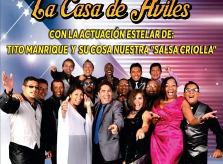 FIESTA CRIOLLA EN: CASA DE ÁVILES