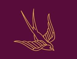 shaktivisions logo, swallow logo, soul relignment logo, buti yoga logo