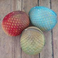 Dragon Egg w mini dragon inside