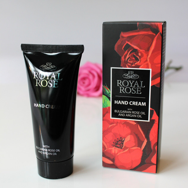 Royal Rose mens hand cream