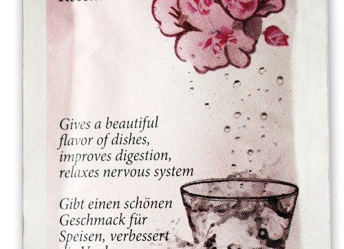 Armina bio Natural rose water drink sachet