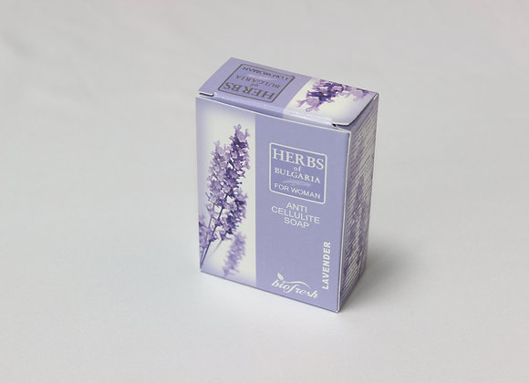 Herbs Of Bulgaria anti-cellulite soap with lavender extract