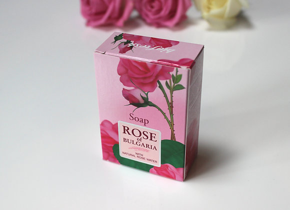 'Rose of Bulgaria' natural soap with rose water