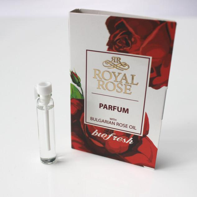 'Royal Rose' perfume essence with Bulgarian Rose Oil (2.1ml)