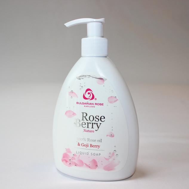 Rose Berry liquid soap
