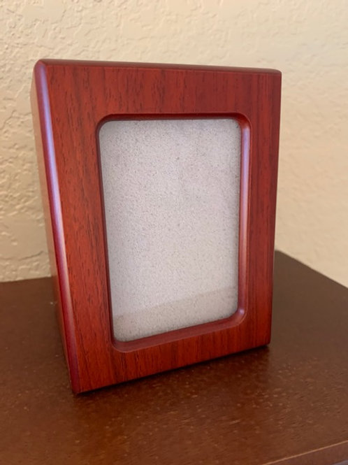 PY06 Photo Frame Pet Urn Red Cherry